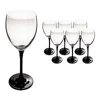 Набор бокалов для вина (6шт/250 мл) Luminarc Domino H8169