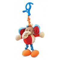 Погремушка плюшевая Baby Mix Слон