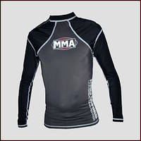 Футболка PS MMA-010 RashGuard COMBAT GREY