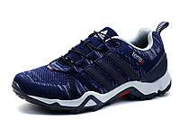 Кроссовки мужские Adidas Terrex, синие, текстиль, фото 1