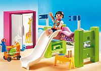 Конструктор Playmobil Особняки Детская комната с кроватью-горкой 5579