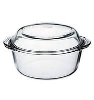 Кастрюля для запекания стеклянная Pasabahce Borcam (59003), 2л