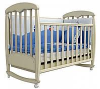 Детская кроватка Соня ЛД1 Верес (патина дуб молочный)