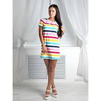 Платье- цветная полоса r