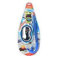Набор для плавания Adventure(маска + трубка) для детей от 8 лет.