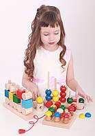 Игрушки деревянные развивающие и обучающие