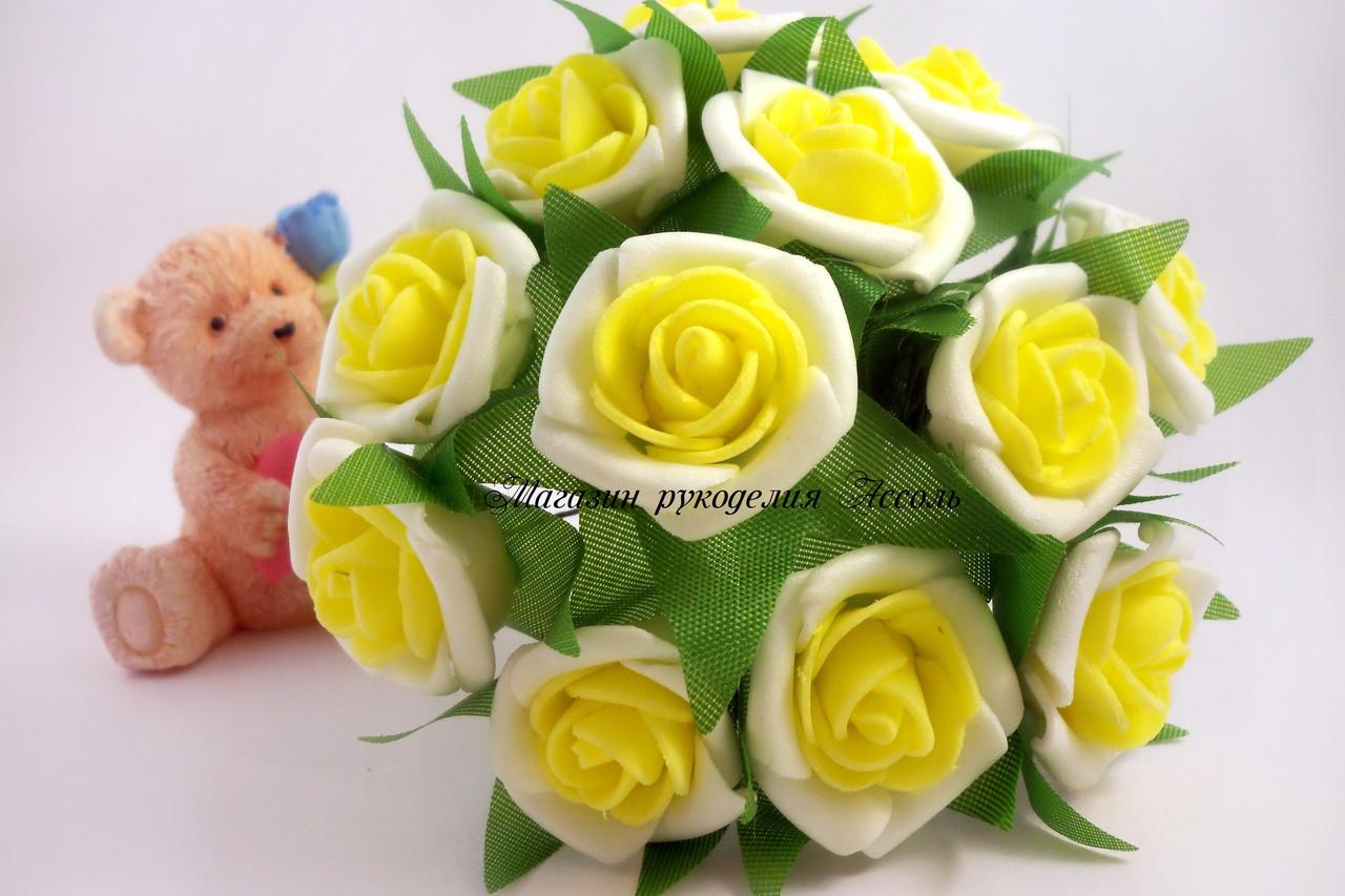 Розы из латекса 9 фотография