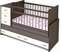 Деткая кровать трансформер от 0 до 12 лет Надія-17