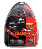 Комплект кабелей AWT-8K 3000 Вт  для усилителя или сабвуфера