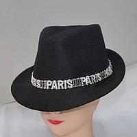 Стильная женская шляпа весна-лето 2016 - Код - 105-160