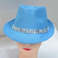 Стильная женская шляпа весна-лето 2016 - Код - 105-162