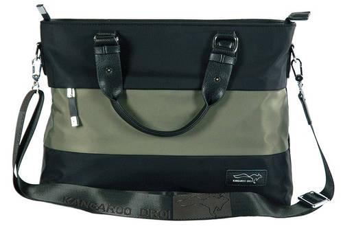 Замечательная деловая сумка из полиэстера Kangaroo 7170-36, черная