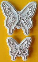 Пэчворк (штампы декоративные) Бабочки 2 шт