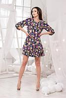 Женское платье шёлк