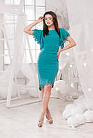 Женское платье креп дайвинг , фото 1