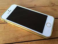 Алюминиевый бампер для iPhone 5/5s/SE green