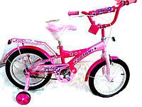 Детский велосипед Velox 16 розовый 2014