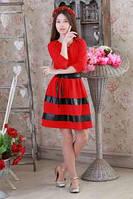 Платье подростковое (размеры: 140/146/152/158)