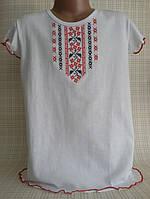 Детская футболка вышиванка для девочки