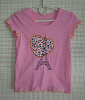 Детская футболка для девочки Париж