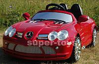 Детский электромобиль ORIGINAL MERCEDES SLR красного цвета, с дистанционным управлением