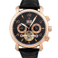 Классические мужские часы Vacheron Constantin geneve tourbillon gold white