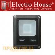 Светодиодный прожектор ElectroHouse LED 10W 6500K 1100Lm IP65 (EH-LP-205)