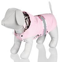 """TX-67103накидка д/собак""""Como""""с капюшоном(полиэстер)30см,розовый"""