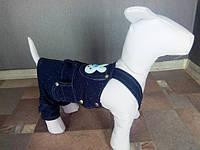 Джинсовый комбинезон Dogs Bomba V-4 размер 4(S)