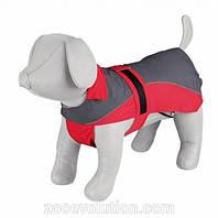 """TX-30273дождевик для собак""""Lorient""""40см,красный/серый"""