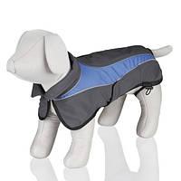 """TX-30266куртка для собак""""Avallon""""(мягкая ткань)55см,серый/синий"""