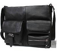 Деловая повседневная сумка под документы и ноутбук 37x29x9см.