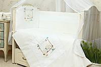 Защитный бампер в детскую кроватку Мечта