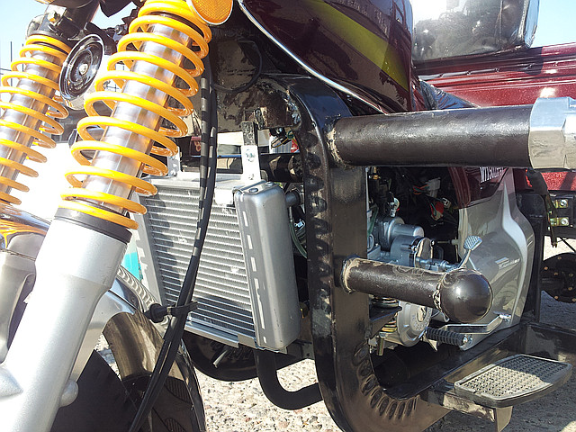 Мотоцикл грузовой musstang mt150t 4v