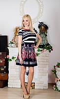 Платье женское с принтом, фото 1