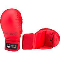 Перчатки для карате Tokaido Red с защитой большого пальца