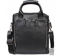 Деловая сумка из натуральной кожи 29x31x12см.