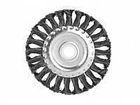 Щетка для УШМ 150мм радиал.стальн.витая пров.Sturm 9017-03-WB150
