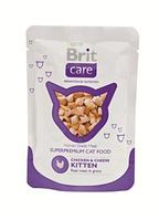 Брит Кер Кет пауч 80гр, консервы для котят, суперпремиум