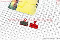 Тормозные колодки диск. тормоз к-кт (Shimano SLX M666, BR-M985, XTR 2011, XT BR-M785), тип 1