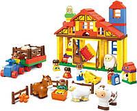 """Развивающая игрушка конструктор для малышей """"Веселая ферма"""""""