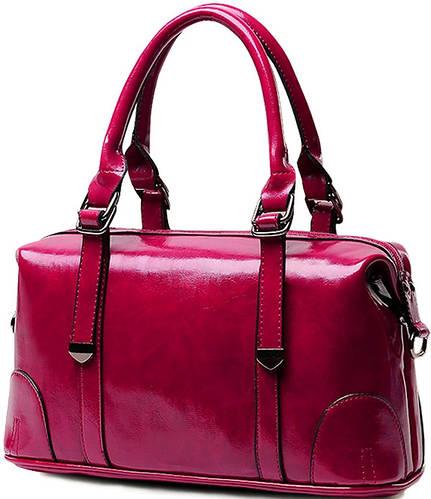 Стильная яркая  женская сумка из искусственной кожи  Traum 7226-13 красная