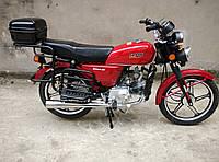Мотоцикл SP125С-2w Альфа(4т., 125см3, 3 фары, задний багажник, подножка)