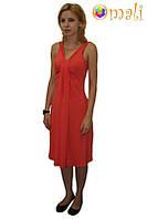 Платье для беременных и кормящих «Лето» (коралловое)