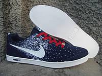 Кеды мужские Nike синие (размеры 41-46)
