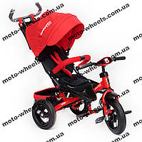 Детский трехколесный велосипед коляска Crosser T-400