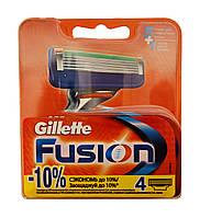 Сменные кассеты Gillette Fusion - 4 шт.