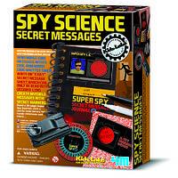 """Набор """"Детская лаборатория. Набор шпиона: Секретные сообщения"""" ТМ """"4М"""""""