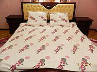 Комплект двуспального постельного белья №14 Сатина