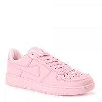 Женские розовые легендарные кроссовки Nike Air Force, точная копия